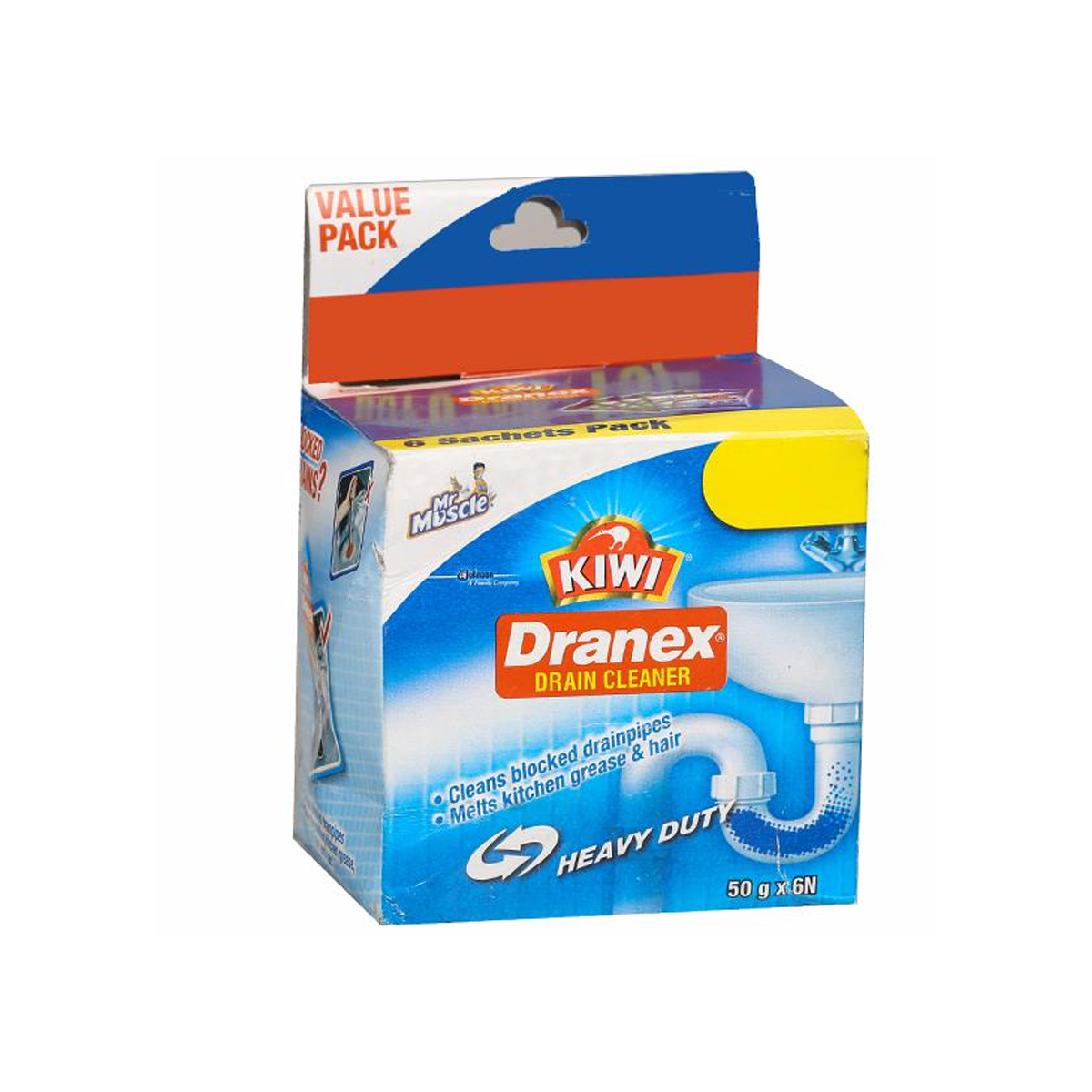 KIWI DRANEX DRAIN CLEANER 50GM