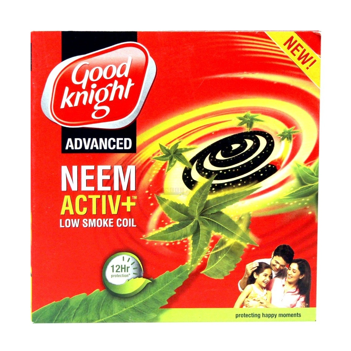 Good Knight Advanced Activ+ Low Smoke Mosquito Coil 10 units