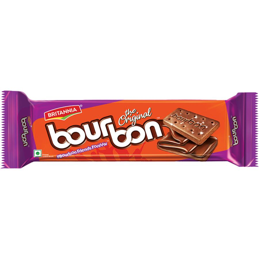 Britannia Bourbon Cream Biscuit ‰ÛÒ Chocolate Flavour