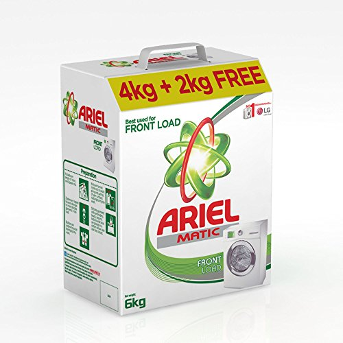 Ariel Matic Front Load Detergent Powder – Buy 4 kg Get 2 kg Free – Brand Offer