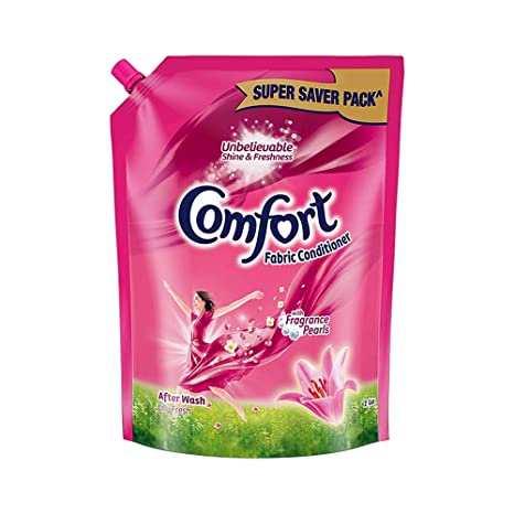Comfort After Wash Lily Fresh Fabric Conditioner (Pouch)