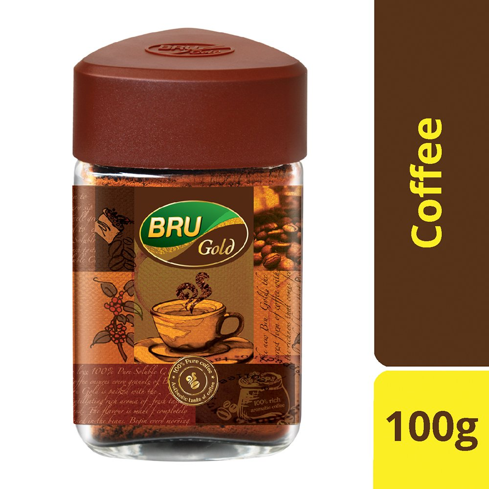 Bru Gold Coffee – 100gms. (Jar)