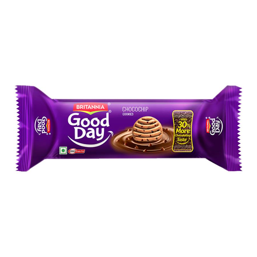 Britannia Good Day Chocochip Cookies 100gms.