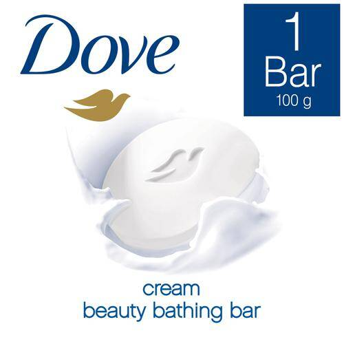 Dove Cream Beauty Bathing Bar, 100 g