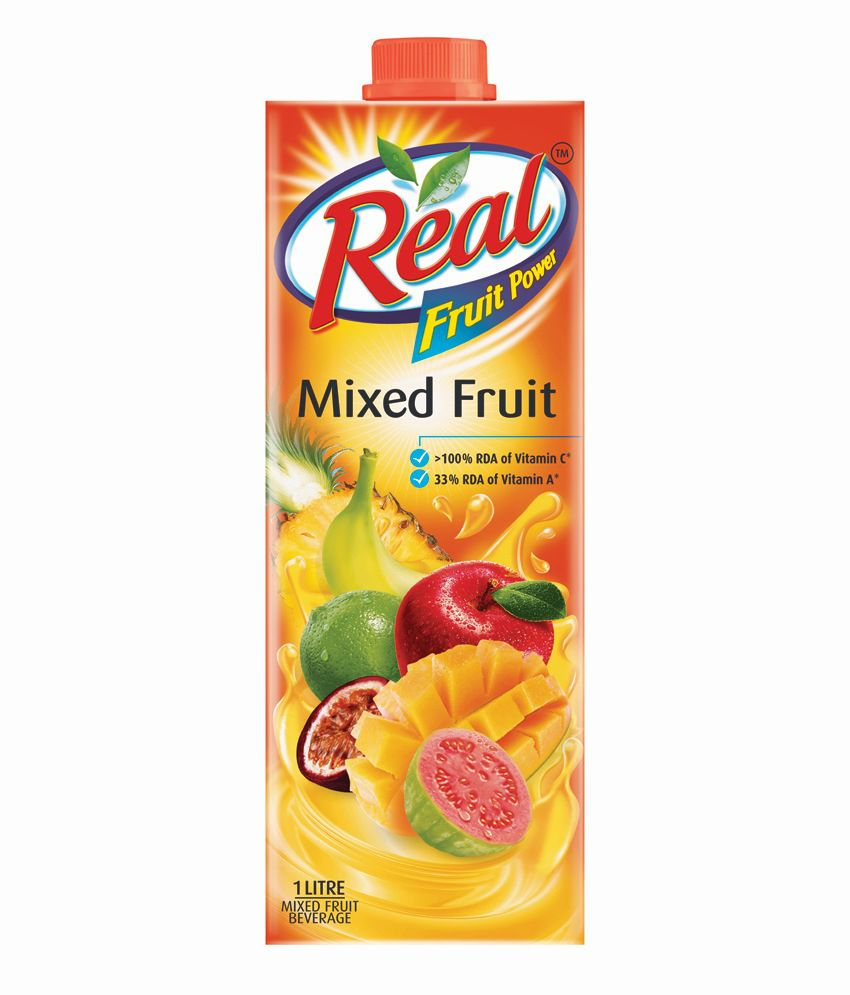 Real Fruit Power Juice ‰ÛÒ Mixed Fruits, 1 Litre
